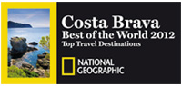 Logo Costa Brava Best of the World 2012, Top Travel Destinations - National Geographic